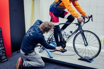 Een fiets afgesteld op jouw lichaam