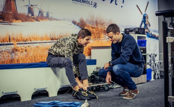Vervormbare schaatsen - Lindenholz