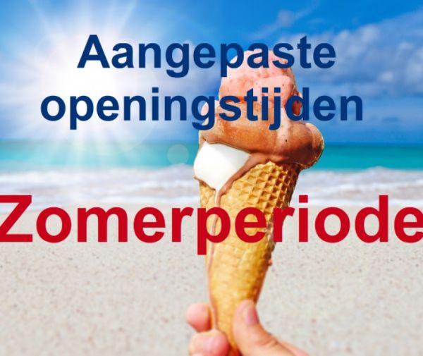Lindenholz op maandag en dinsdag gesloten tijdens de bouwvak vakantie!